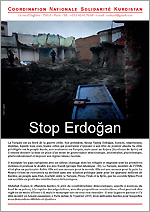 Brochure '4 pages' Stop Erdogan (lot de 20)