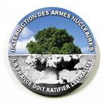 Badge Interdiction des Armes Nucléaires