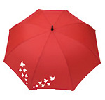 Parapluie automatique (rouge)