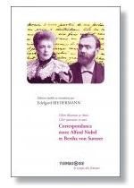 Livre Correspondance entre Alfred Nobel et Bertha von Suttner