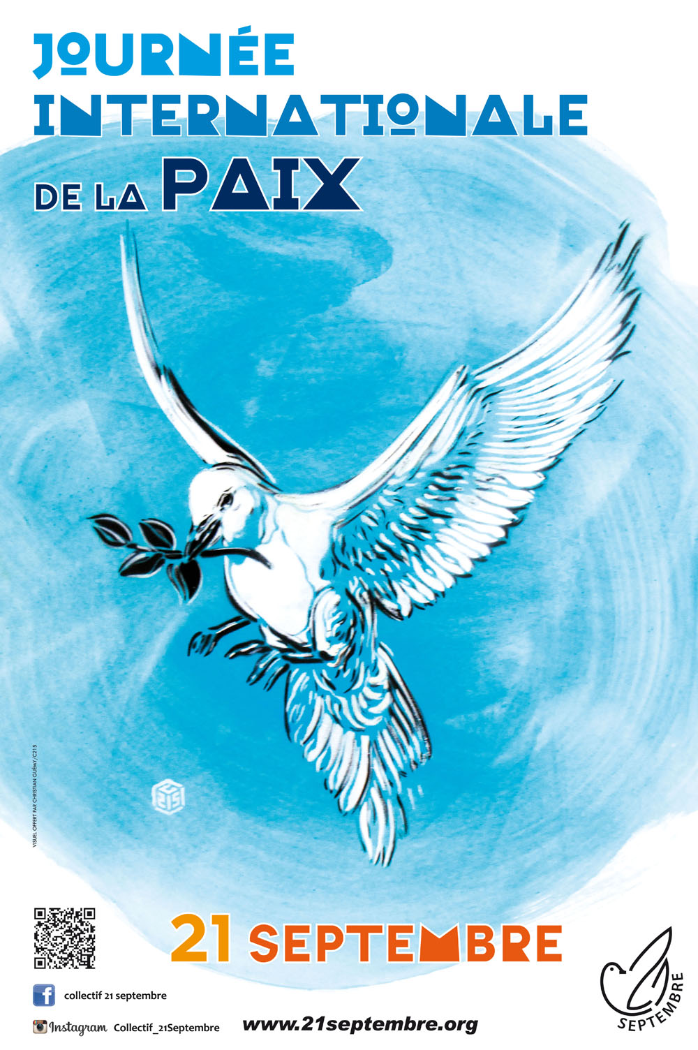 L'affiche de la Journée internationale de la Paix 2016