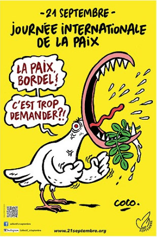 L'affiche de la Journée internationale de la Paix 2017